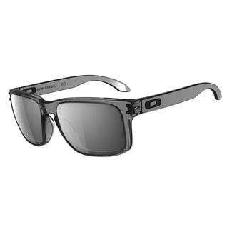 Oakley Holbrook Black Iridium Gray Smoke