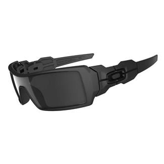 Oakley Oil Rig Black Iridium Matte Black