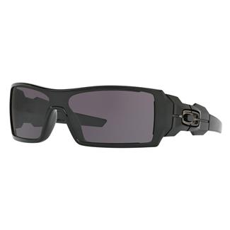 Oakley Oil Rig Polished Black (frame) - Warm Gray (lens)