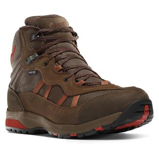 """Danner 4"""" St. Helens Mid GTX XCR Red / Brown"""