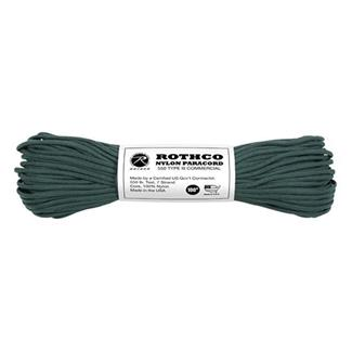 Rothco Nylon 550 LB Type III Commercial Paracord - 100ft Hunter Green