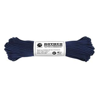 Rothco Nylon 550 LB Type III Commercial Paracord - 100ft Midnight Blue