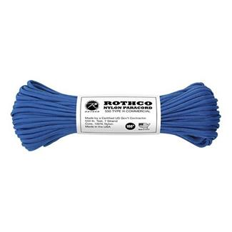 Rothco Nylon 550 LB Type III Commercial Paracord - 100ft Royal Blue