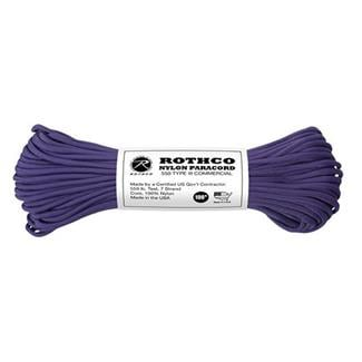 Rothco Nylon 550 LB Type III Commercial Paracord - 100ft Purple