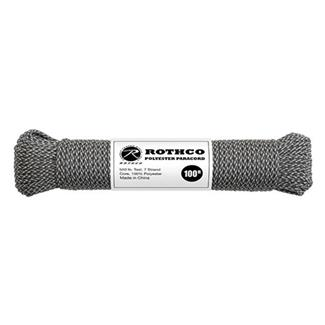 Rothco Polyester 550 LB Commercial Paracord - 100ft ACU Digital