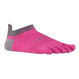 Injinji Run Lightweight No Show Socks Canyon Pink