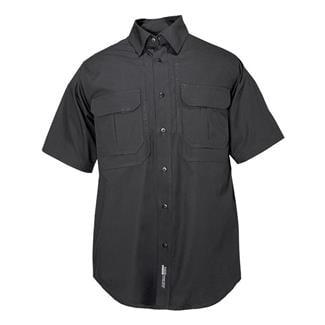 5.11 Short Sleeve Cotton Tactical Shirts Black