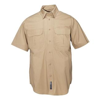 5.11 Short Sleeve Cotton Tactical Shirts Coyote