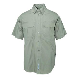 5.11 Short Sleeve Cotton Tactical Shirts OD Green