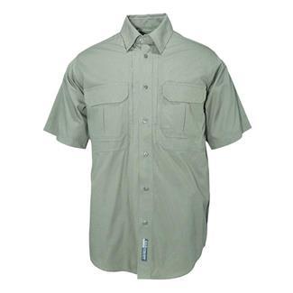 5.11 Short Sleeve Cotton Tactical Shirts OD Green