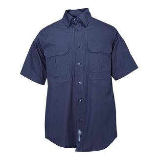 5.11 Short Sleeve Cotton Tactical Shirts Fire Navy