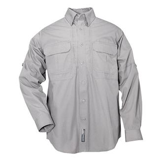 5.11 Long Sleeve Cotton Tactical Shirts Gray