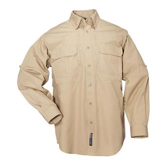 5.11 Long Sleeve Cotton Tactical Shirts Coyote