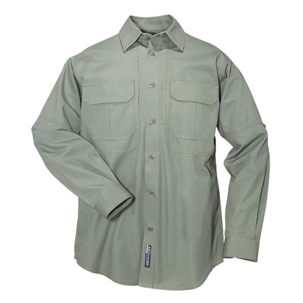 Men 39 s long sleeve cotton tactical shirts for Long sleep shirts cotton