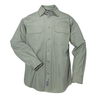 5.11 Long Sleeve Cotton Tactical Shirts OD Green