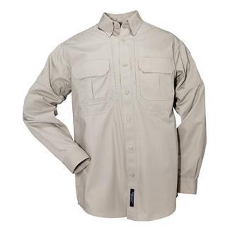 5.11 Long Sleeve Cotton Tactical Shirts Sage