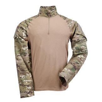 5.11 Rapid Assault Shirts MultiCam