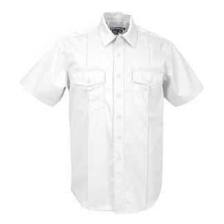 5.11 Short Sleeve Class A Station Shirts White