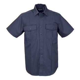 5.11 Short Sleeve Class A Station Shirts Fire Navy