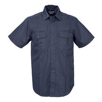 5.11 Short Sleeve Class B Station Shirts Fire Navy