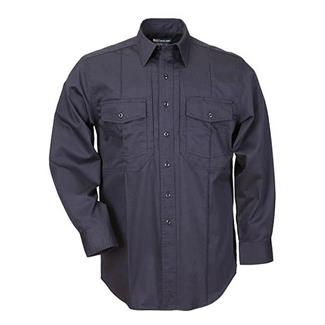 5.11 Long Sleeve Class B Station Shirts Fire Navy