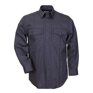 5.11 Long Sleeve Class B Station Shirts Fire Navy