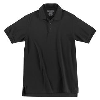 5.11 Short Sleeve Utility Polos Black