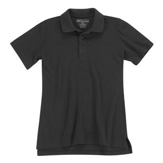 5.11 Short Sleeve Professional Polos Black