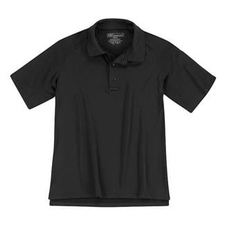 5.11 Short Sleeve Performance Polos Black