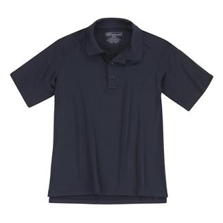 5.11 Short Sleeve Performance Polos Dark Navy