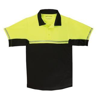 5.11 Short Sleeve Bike Patrol Polos Hi-Vis Yellow