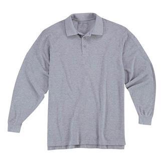5.11 Long Sleeve Professional Polos Heather Gray
