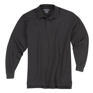 5.11 Long Sleeve Professional Polos Black