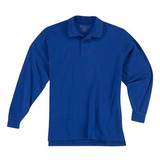 5.11 Long Sleeve Professional Polos Academy Blue