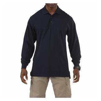 5.11 Long Sleeve Professional Polos Dark Navy