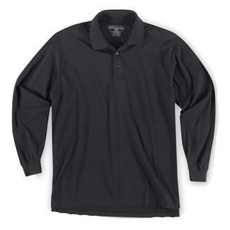 5.11 Long Sleeve Tactical Polos Black