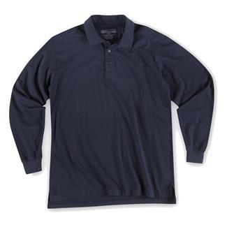 5.11 Long Sleeve Tactical Polos Dark Navy