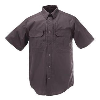 5.11 Short Sleeve Taclite Pro Shirts Charcoal