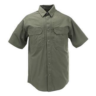 5.11 Short Sleeve Taclite Pro Shirts TDU Green