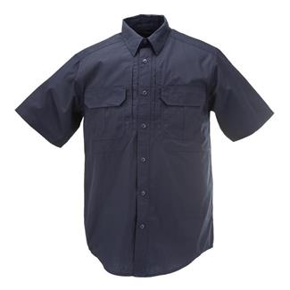 5.11 Short Sleeve Taclite Pro Shirts Dark Navy