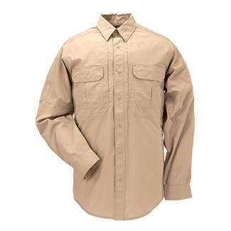 5.11 Long Sleeve Taclite Pro Shirts Coyote