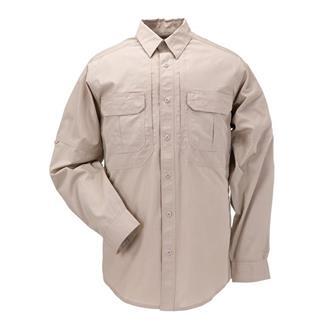 5.11 Long Sleeve Taclite Pro Shirts TDU Khaki