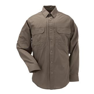 5.11 Long Sleeve Taclite Pro Shirts Tundra
