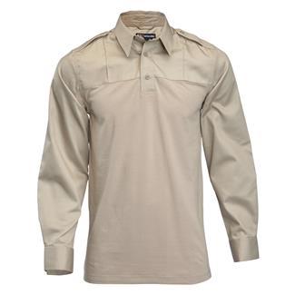 5.11 Long Sleeve PDU Rapid Shirts Silver Tan