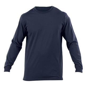 5.11 Long Sleeve Professional T-Shirts Fire Navy