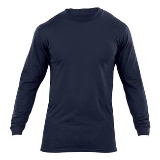 5.11 Long Sleeve Station Wear T-Shirts Fire Navy