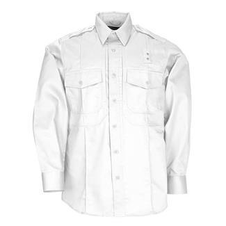 5.11 Long Sleeve Twill PDU Class B Shirts White