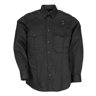 5.11 Long Sleeve Twill PDU Class B Shirts Black