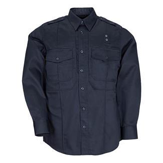 5.11 Long Sleeve Twill PDU Class B Shirts Midnight Navy