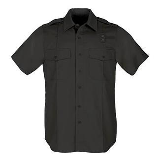 5.11 Short Sleeve Twill PDU Class A Shirts Black